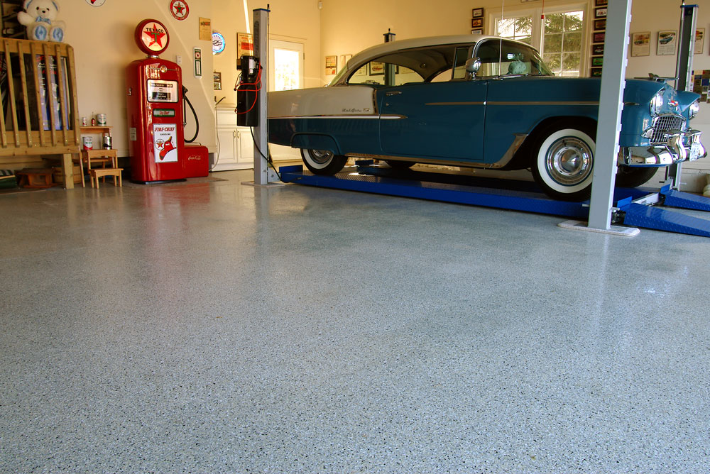 Beautiful Garage Floor Coatings