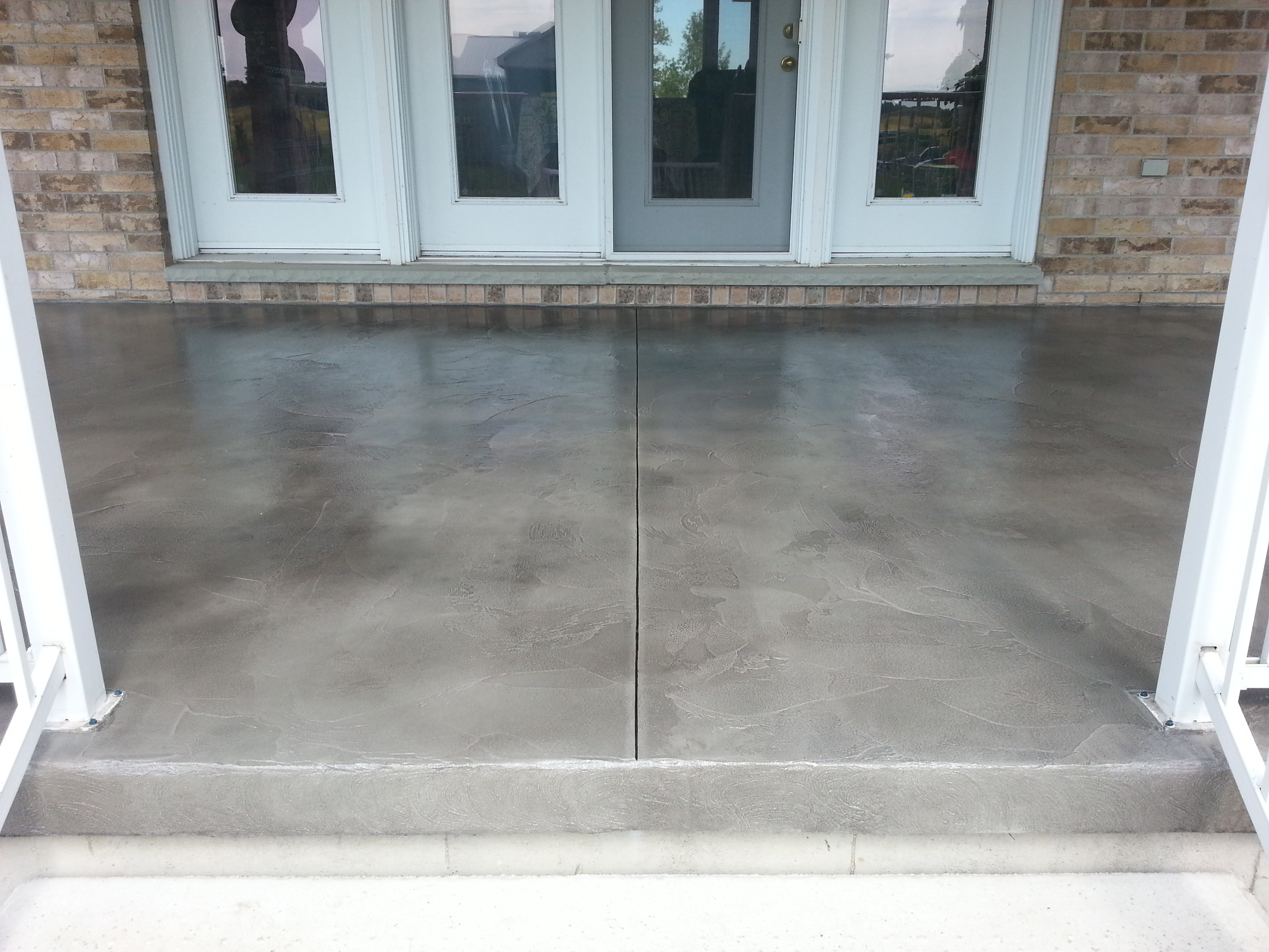 Durable Exterior Concrete Porch