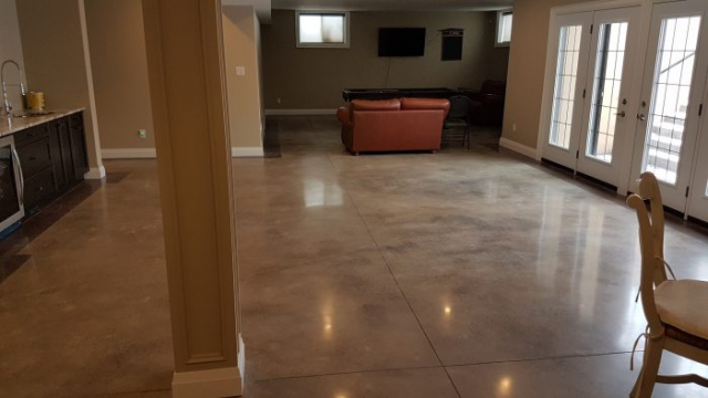 decorative Acid Stained Concrete floors