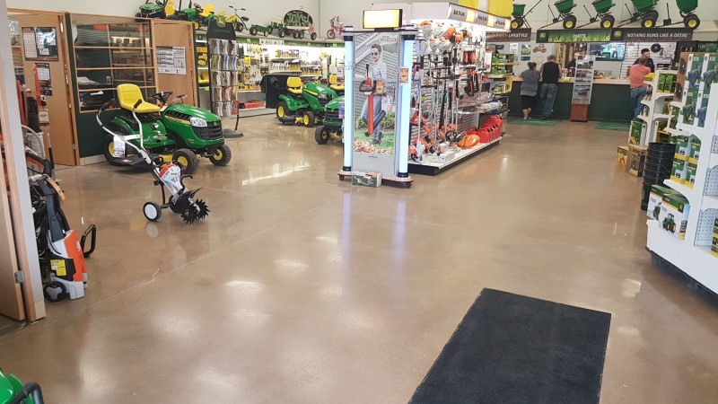 Commercial Polished Concrete Flooring
