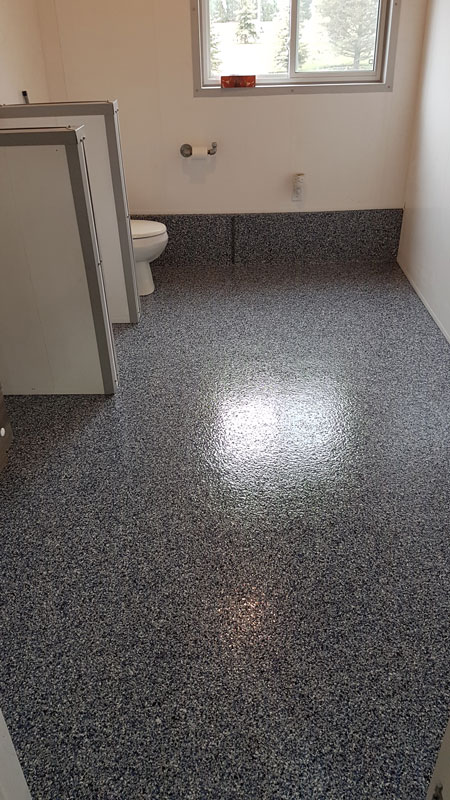 Bathroom Coatings for concrete flooring