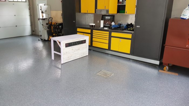 Water Proof Concrete Garage Floor Coatings