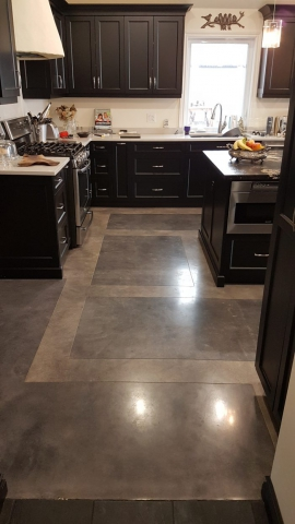 new polished concrete floors