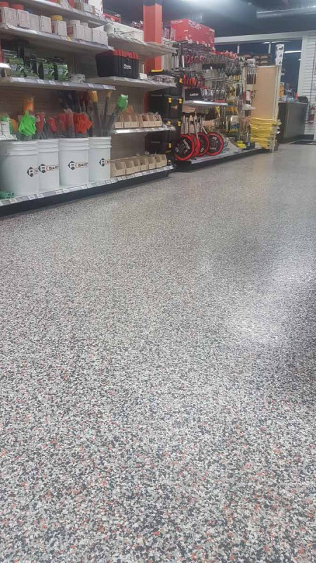Clean Urethane Floor Coating