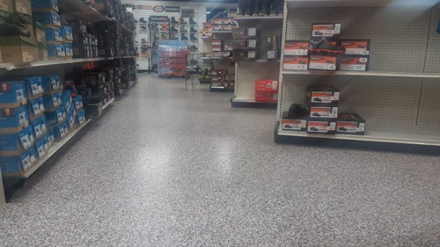 Seamless Epoxy Flooring