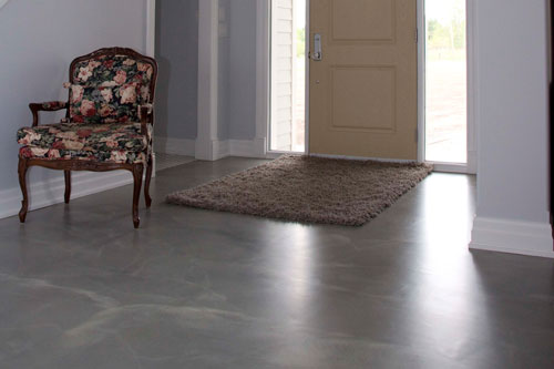 Decorative Toppings Concrete Flooring
