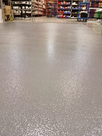 Epoxy Sand Grit Coating