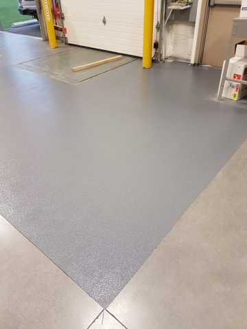 Grit Epoxy Coating