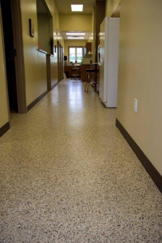 Stainless Concrete Flooring Coating