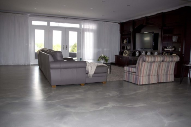 Easy to maintain Residential Concrete Floors