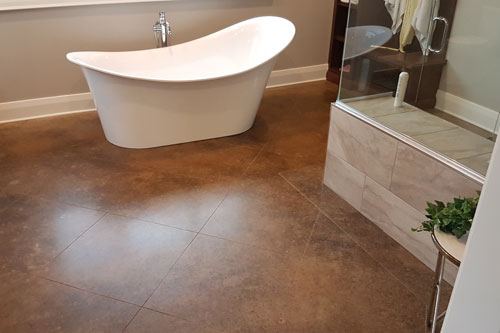 Durable residential flooring