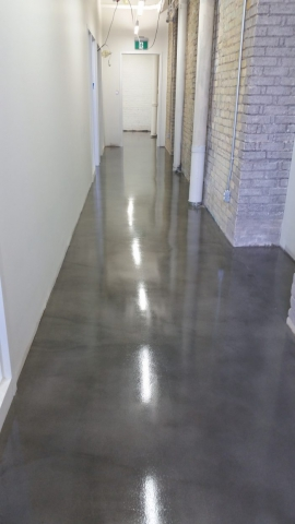 Decorative Toppings Interior Concrete Flooring