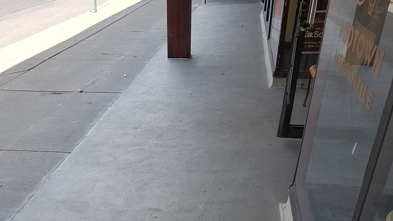 Finished with Ardex Concrete Guard