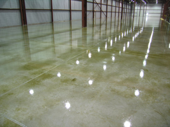 Water proof concrete flooring