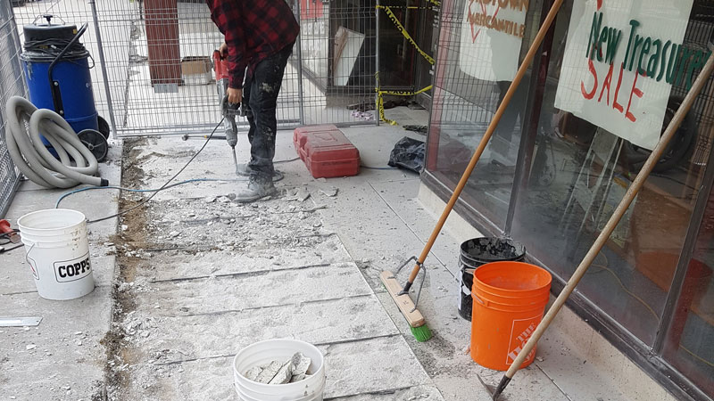 Exterior Entry Transformation | RS Concrete Solutions